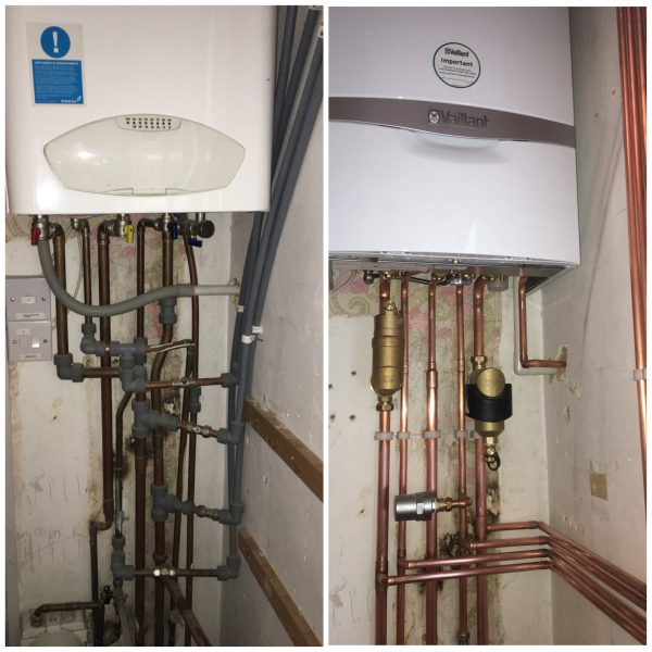 Vaillant Combi Boiler Install in Raynes Park