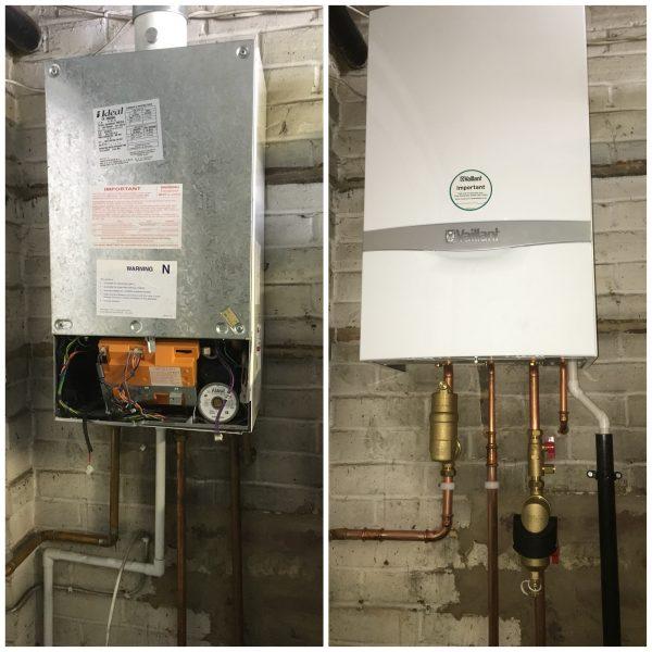 Vaillant System Boiler Installation in Banstead