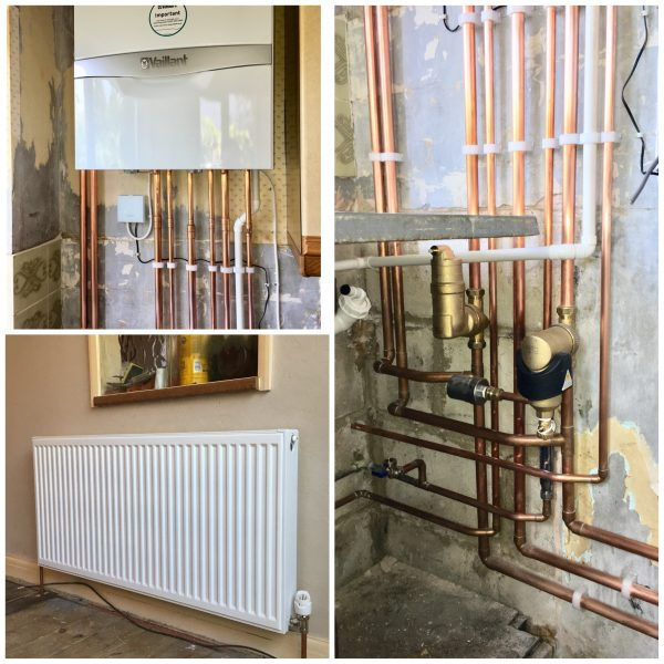 Full Heating System Installation in Sutton