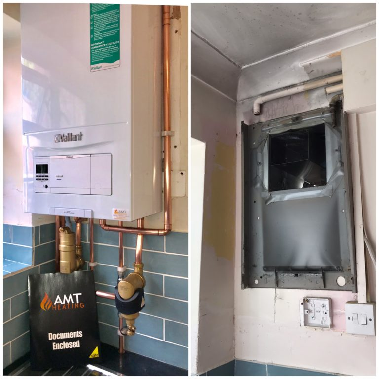 New Vaillant Combination Boiler Installation in Sutton