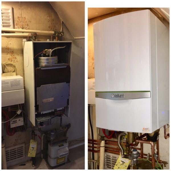 Vaillant Combi Boiler Installation in Morden 1